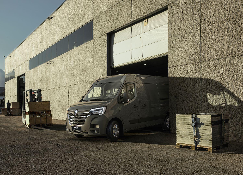 Nový Renault Master na operatívny lízing v AVIS